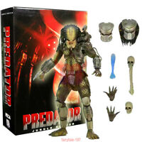 "NECA Jungle Hunter Predator Ultimate 7"" Action Figure 1:12 Predators Deluxe NIB"