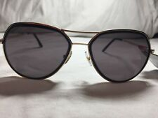 77520120a4 Foster Grant Gold Metal Frame Sunglasses for Women