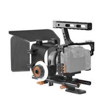 US DSLR Video Film Stabilizer Rod Rig Cage+Handle Grip+Follow Focus+Mat box Kit