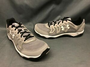 Under Armour Men's UA Micro G Engage Running Sneakers Grey Sz 9.5 DISPLAY MODEL!