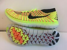 WOMENS NIKE FREE RN MOTION FK OC SHOE NEW SIZE 10  RUNNING 843434  MULTICOLOR