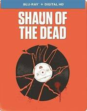 Shaun of the Dead (Blu-ray Disc, 2014, Limited Edition Steelbook)