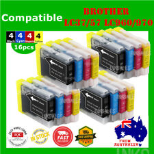 16x Ink Cartridges LC960 LC970 LC37 LC57 For Brother DCP 330 350 560CN MFC 465CN
