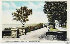 CORNER OF MAIN AND ST. PAUL STS., BURLINGTON, VT.