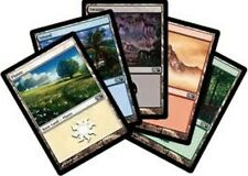 100 Basic Lands land  MTG magic the gathering lot 20 of each cny