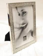 MASCAGNI CADRE PHOTO 13 X 18 ARGENT AVEC PETITS BRILLANTS NEUF