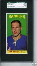 1964 1965 Topps # 36 Jim Mikol Graded Card SGC 92 = 8.5 New York Rangers