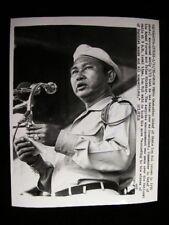 CAMBODIAN PREMIER LON NOL   PHOTO1972 #7017