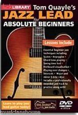 Fare clic su Libreria TOM Quayle's assoluta principianti JAZZ PIOMBO Lern per Play chitarra DVD