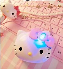 3D Hello Kitty Wired Mouse USB 2.0 Mouse Optical Mice For Computer PC Unique New