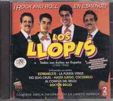 balada 70s 60s 2CDs+BOOKLET ramalama LOS LLOPIS 1960-62 ROCK & ROLL EN ESPAÑOL