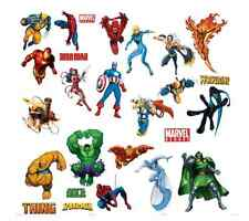 Marvel Heroes Wall Stickers Decal, Removable Art Action Sticker, Home Mural New