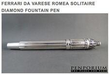 FERRARI DA VARESE ROMEA SOLITAIRE DIAMOND FOUNTAIN PEN