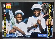 Venus and Serena Williams card Sports Illustrated for Kids #877