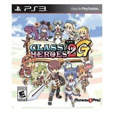 Class of Heroes 2G (Sony PlayStation 3, 2014)