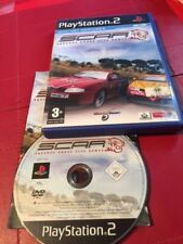 SCAR - Squadra Corse Alfa Romeo Playstation 2 Ps2 Game -   Complete -