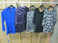 Lot of 5 Women's Designer Tops! Size Medium & Large! Gently Owned!!