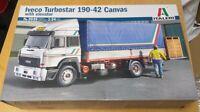 3939 IVECO Turbostar 190.42 Canvas with Elevator ITALERI 1:24 plastic model kit
