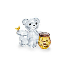 SWAROVSKI CRYSTAL KRIS BEAR SWEET AS HONEY 5491970.NEW IN BOX