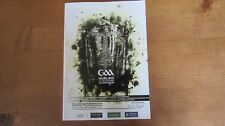 GAA 2015 All Ireland SHC Final Kilkenny v Galway official match programme