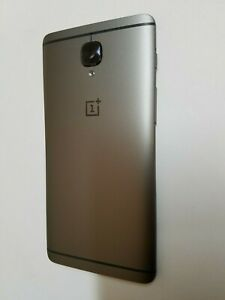 For Oneplus 3T Gray Original Back Housing Main Mid Frame Cover One+