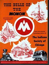 Belle of the Monon 1947 Monon Centennial Show the Indiana Society of Chicago