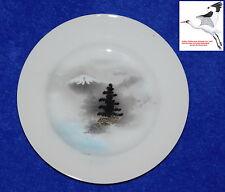 Japanese Kutani Plates Eggshell Porcelains Set (6) Oriental Tea Set Replacements