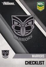 2017 NRL ESP Traders 141 Warriors Checklist