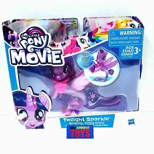 My Little Pony The Movie G4 Twilight Sparkle Seapony treasure glitter MLP