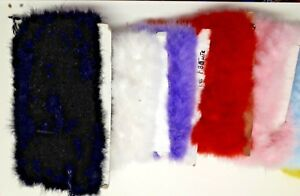 Marabout - Faux Fur Trim sold by the metre