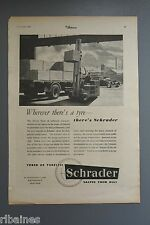 R&L Ex-Mag Advert: Schraderl Tyres Truck, Fork lift / Armstron Shock Absorbers