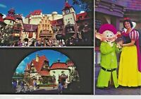 Postcard FL Florida Walt Disney World EPCOT Snow White Dopey Showcase Bavarian