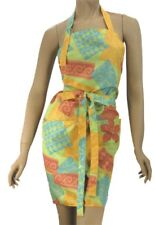 Pretty Hair Salon Apron In Tropical Water Resist Finish Lightweight WennerWear