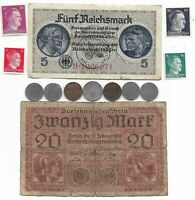 Rare Old WWI WWII Germany War Coin Note German Collectible Collection Lot 🔥 C7