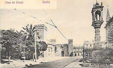SPAIN - Sevilla - Plaza del Triunfo