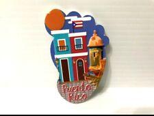 Puerto Rico Flag Casitas Old San Juan Footsteps Feet Magnets GIFT SOUVENIR 4