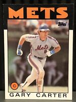 1986 Topps Gary Carter baseball card New York Mets NrMt-Mint #170 MLB HOF C