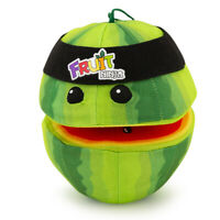 Fruit Ninja Watermelon w/ Headband Plush Toy Stuffed Animal Video Game Figure