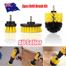 Grout Power Scrubber Cleaning Drill Brush Tub Cleaner Combo Tool Kit Yellow EA