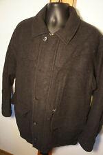 Vtg Patagonia THICK Wool Peacoat Vintage Coat Sz L                          o7
