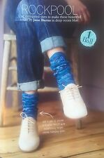 Rockpool - Colourful Socks Knitting Pattern. (04/16)