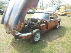1973 Triumph GT6  MK 111  Californian import LHD  For Restoration Rust Free