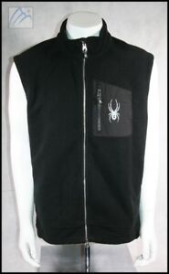 SPYDER INSULATED FLEECE SKI VEST MENS XXL