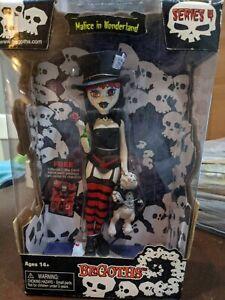 "Bleeding Edge BeGoths Doll Malice In Wonderland Series 4 Vinyl 8"" Figure RARE"