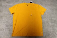 Hollister Mens T - Shirt Orange Oversized Fit Size XL New with Label