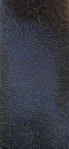 Midnight Blue & Grey Paisley LANDISUN OF HIMALAYA Neck Tie