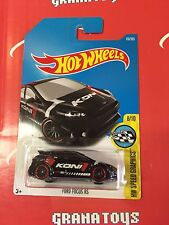 Ford Focus RS #176 Black 2017 Hot Wheels Case H