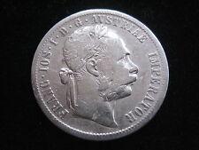"""MDS ÖSTERREICH HABSBURG KAISERREICH 1 FLORIN 1878 """"FRANZ JOSEPH I."""", SILBER  #33"""