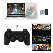 2x2.4G USB Wireless Vibration Gamepad Controller Joystick Analog Stick For PC