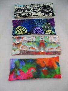COLORFUL EYE PILLOW W FRAGRANT SOOTHING LAVENDER INSIDE